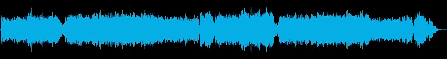 ハロウィン/クリスマス系怪しい雰囲気の曲の再生済みの波形