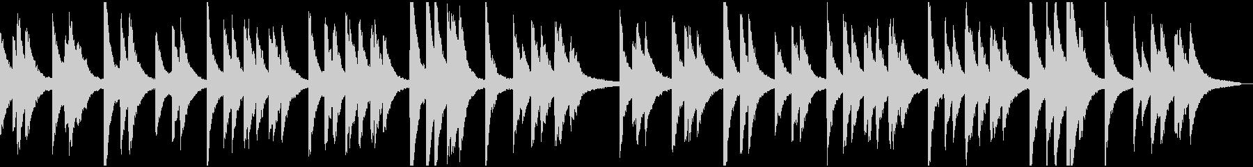 きよしこの夜ピアノ版(くりかえし可)の未再生の波形