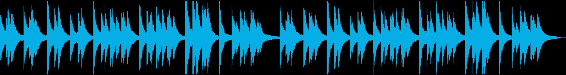 きよしこの夜ピアノ版(くりかえし可)の再生済みの波形
