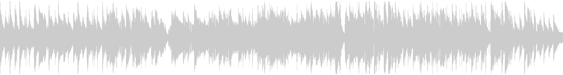 素敵でスローなジャズワルツ ※ループ版の未再生の波形