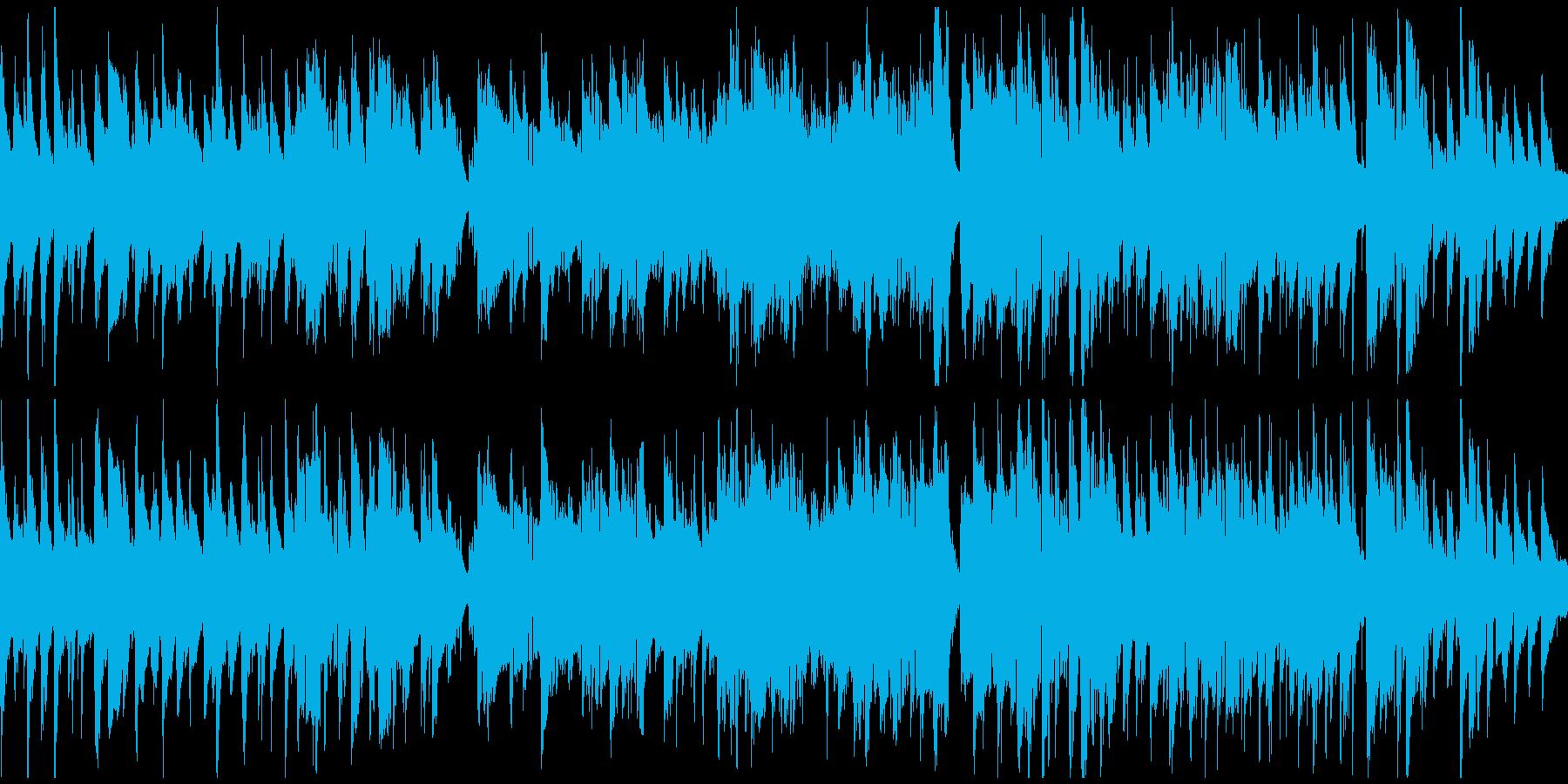 素敵でスローなジャズワルツ ※ループ版の再生済みの波形