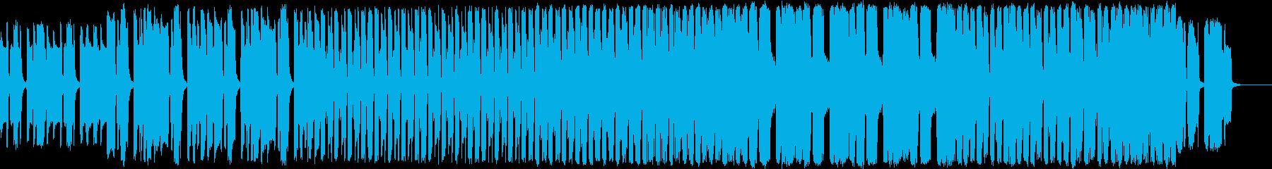 かっこいい雰囲気のエレクトロの再生済みの波形