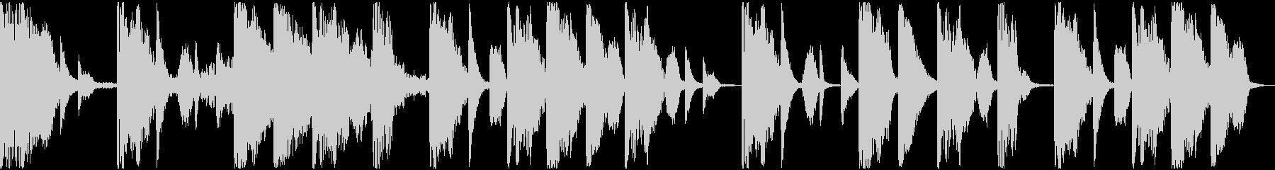 【ミステリアス】ロング1、ショート1の未再生の波形