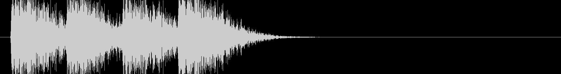 オーケストラヒット決定シーン 80年代の未再生の波形