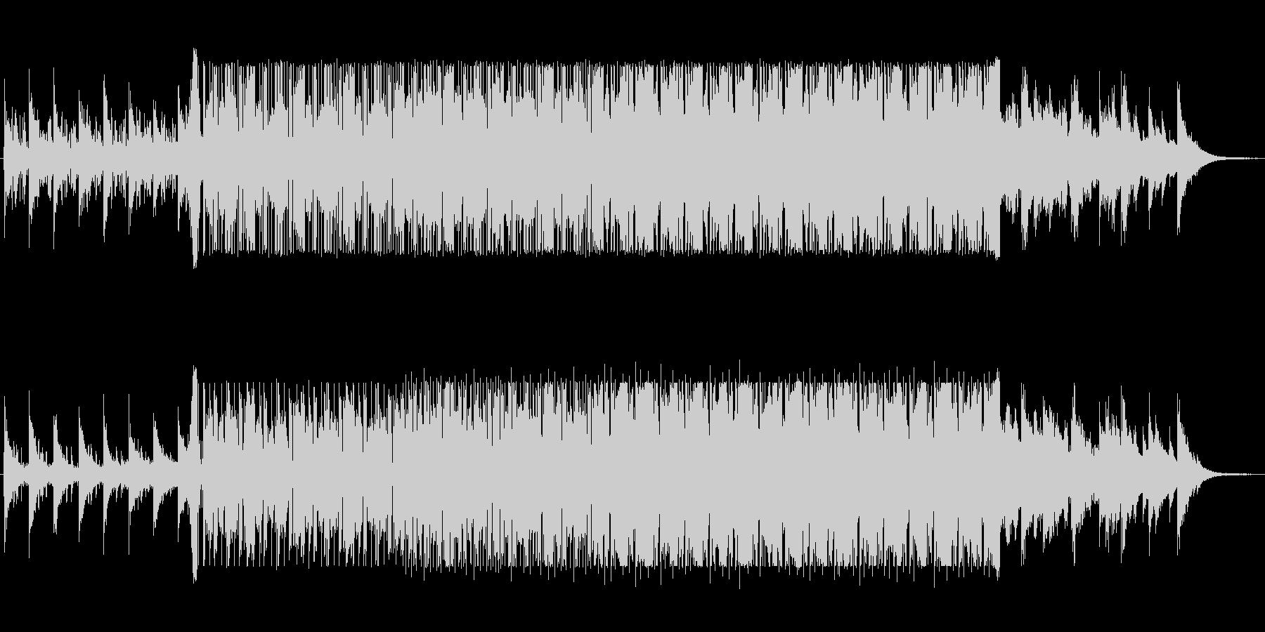LoFiなイントロが印象的なチルアウトの未再生の波形
