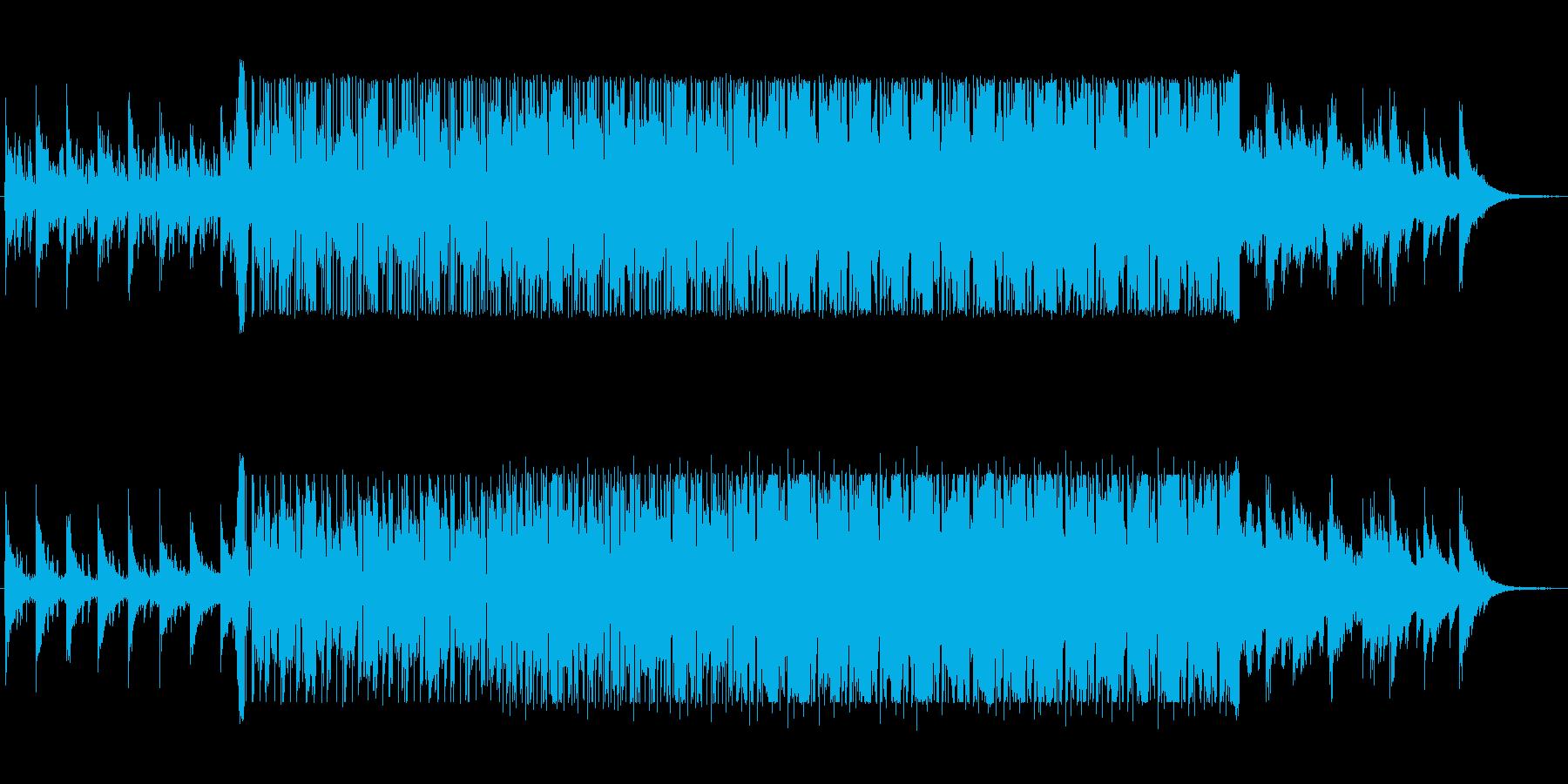 LoFiなイントロが印象的なチルアウトの再生済みの波形