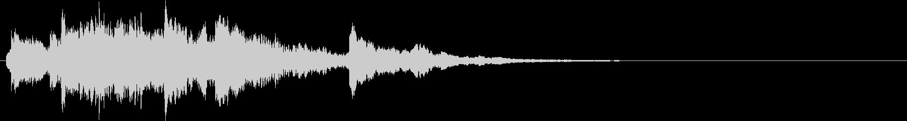 キラキラキラ…(銀世界、結晶、冷たい)の未再生の波形