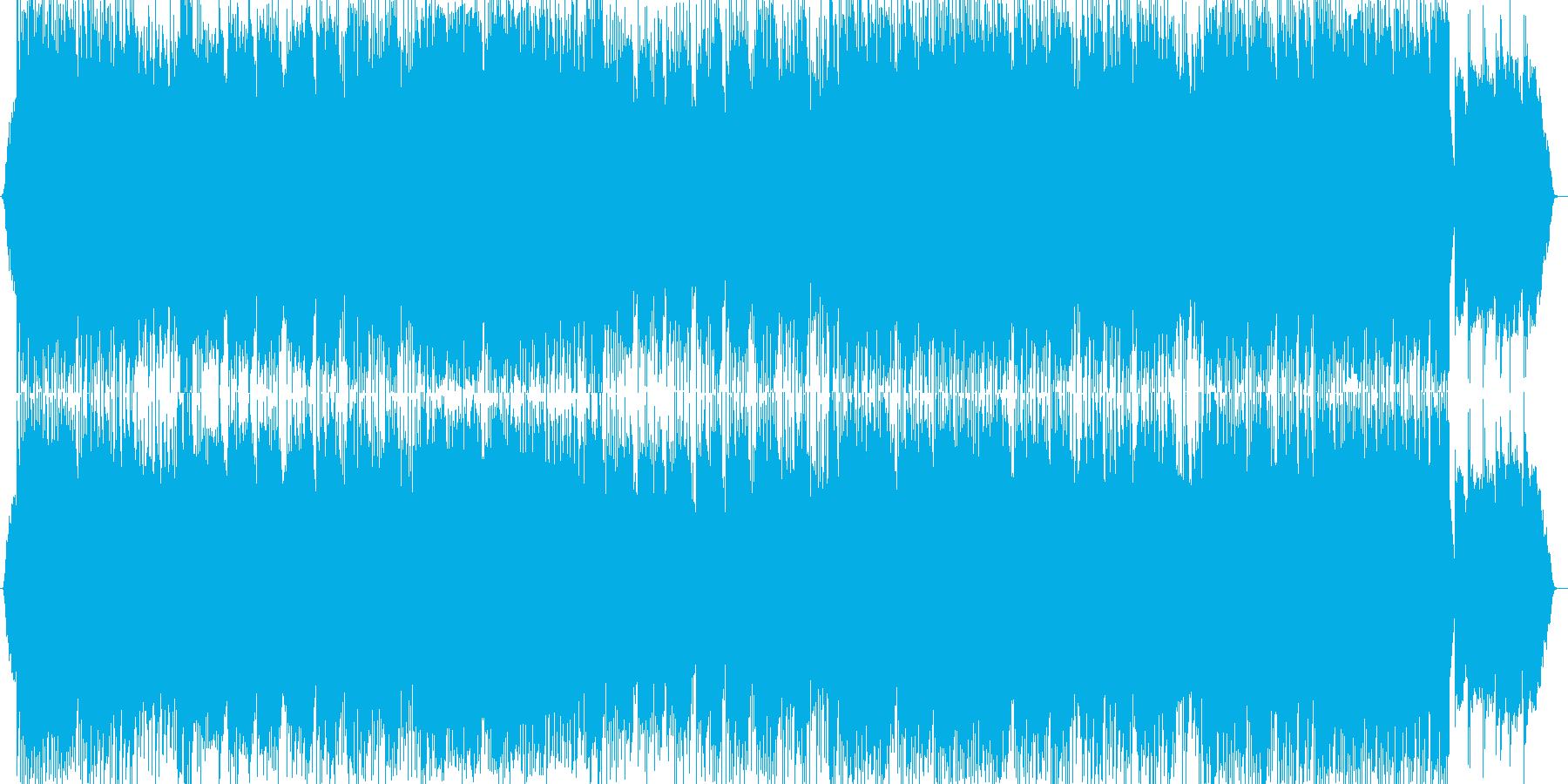 哀愁漂うバラード調の楽曲ですの再生済みの波形