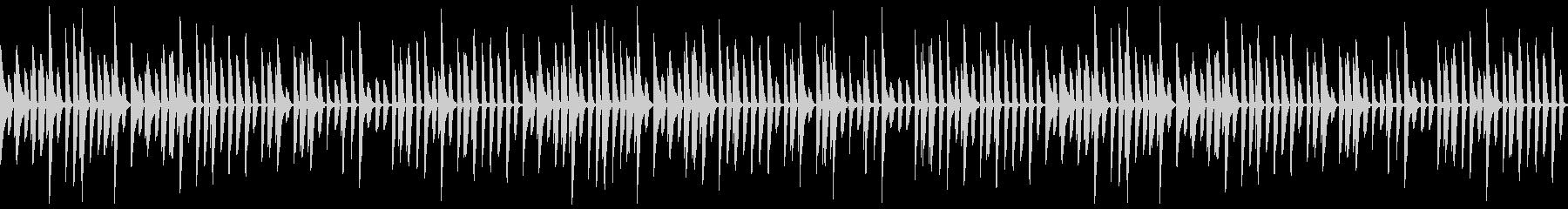かわいいピアノの行進LOOP_Bの未再生の波形
