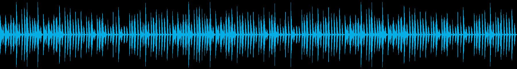 かわいいピアノの行進LOOP_Bの再生済みの波形
