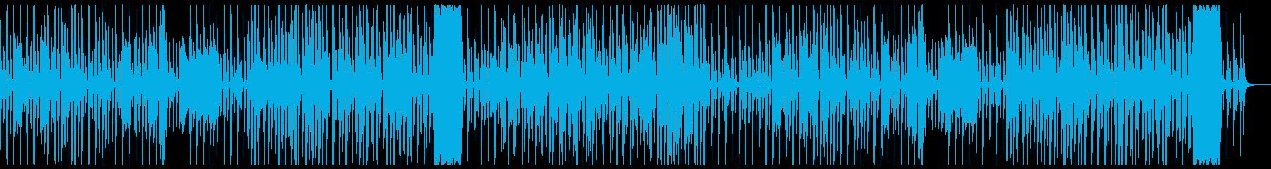 かわいく怪しげな雰囲気のギャグ系茶番曲の再生済みの波形