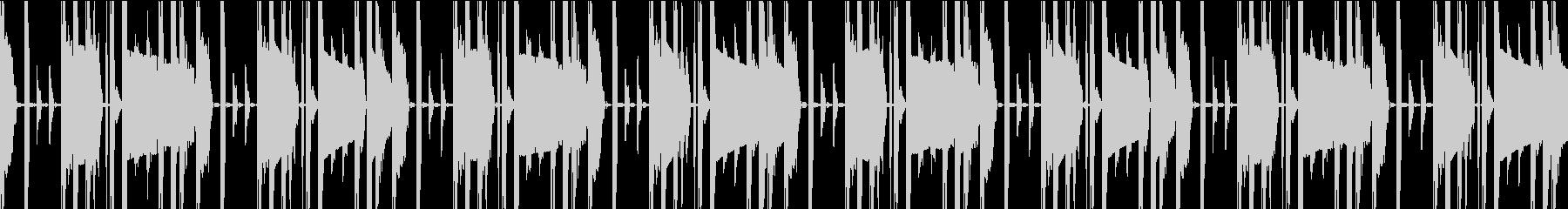 デジタルなシンキングタイム(ループ可)の未再生の波形