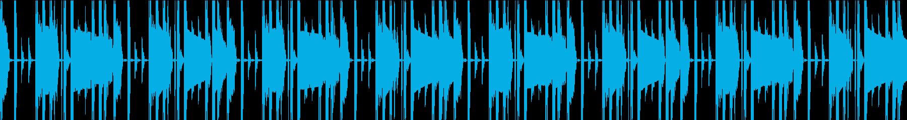 デジタルなシンキングタイム(ループ可)の再生済みの波形