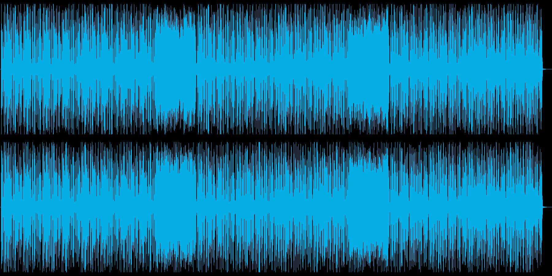 おしゃれでワクワク感シンセテクノの再生済みの波形
