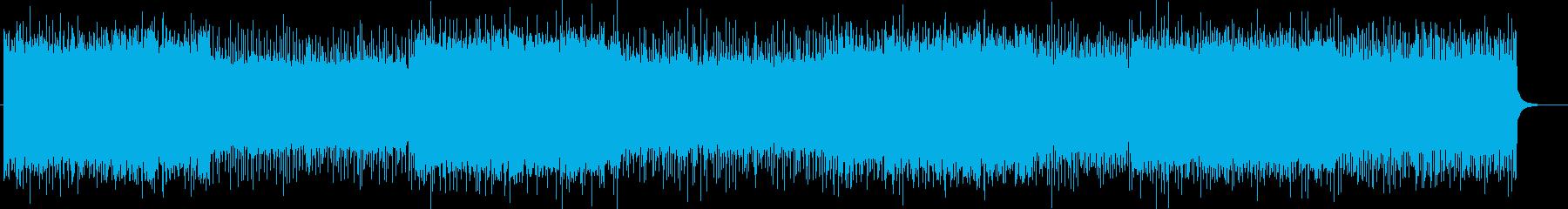「HR/HM」「ROCK」BGM305の再生済みの波形