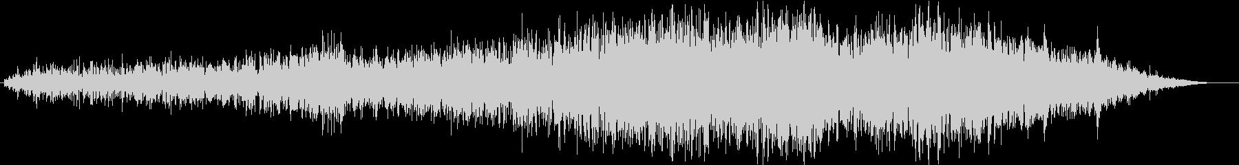 地震 01の未再生の波形