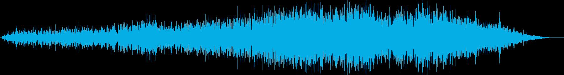 地震 01の再生済みの波形