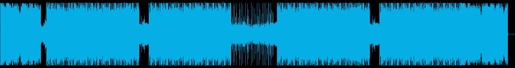 ジャジーで渋いヒップホップの再生済みの波形