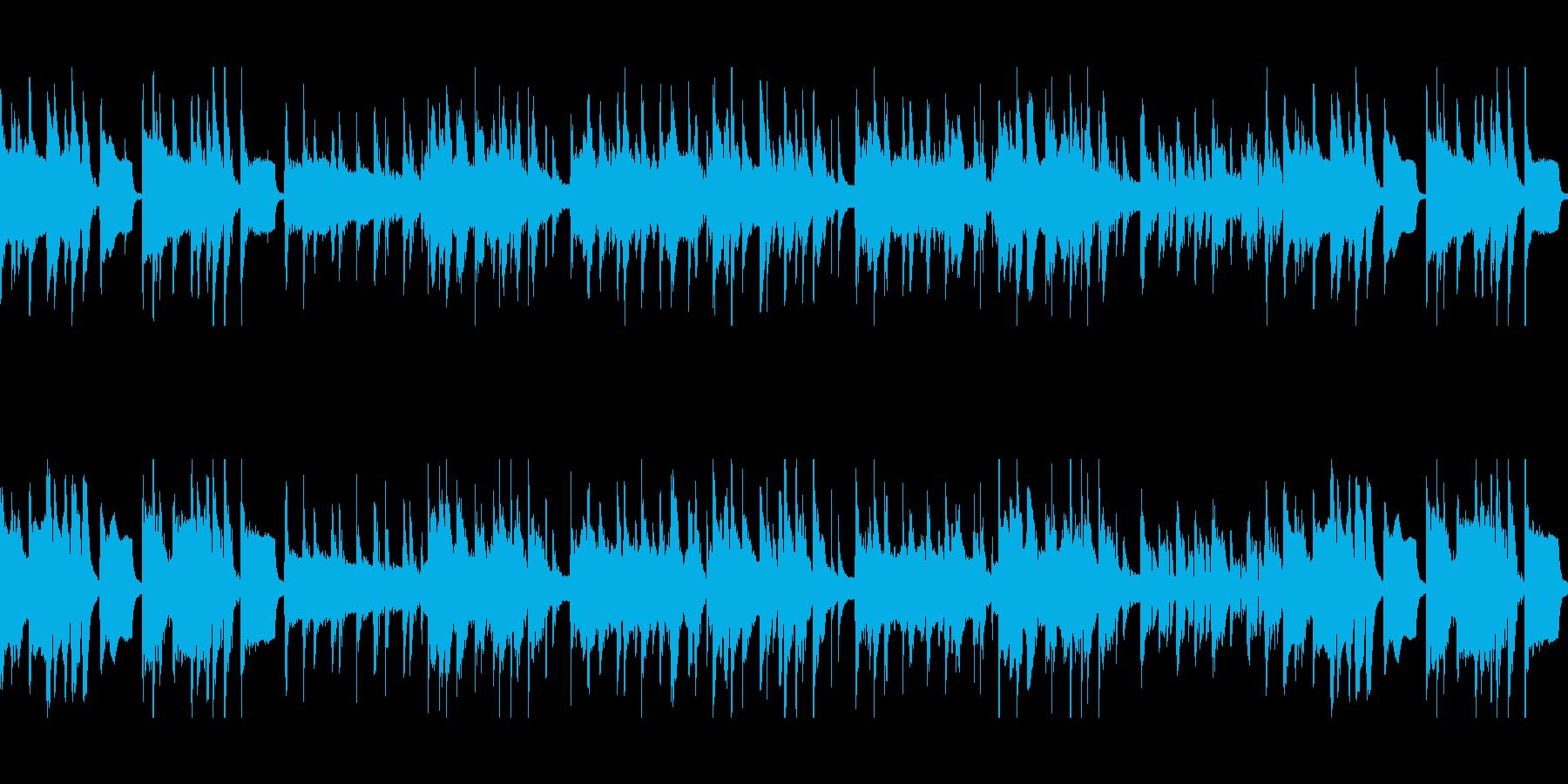 おとぼけシーンに!間抜けな木琴ブルースの再生済みの波形