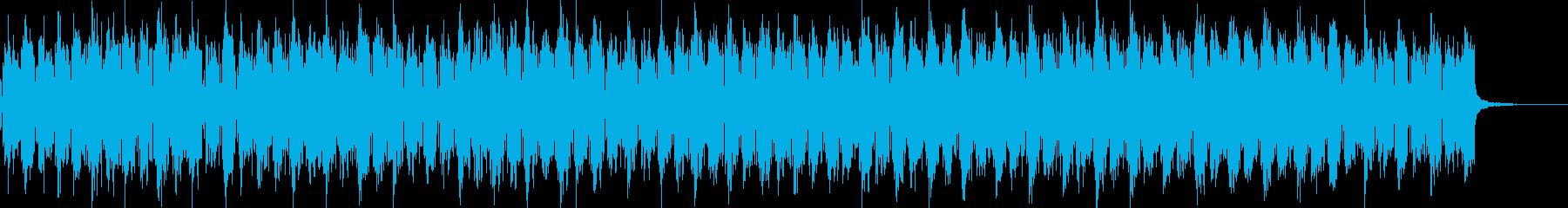 作業の邪魔をしないローファイチルポップの再生済みの波形