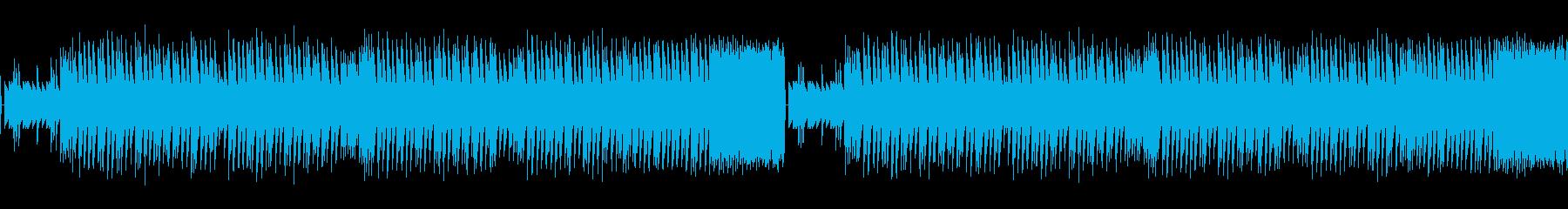 和風で軽快なレトロゲームサウンドの再生済みの波形