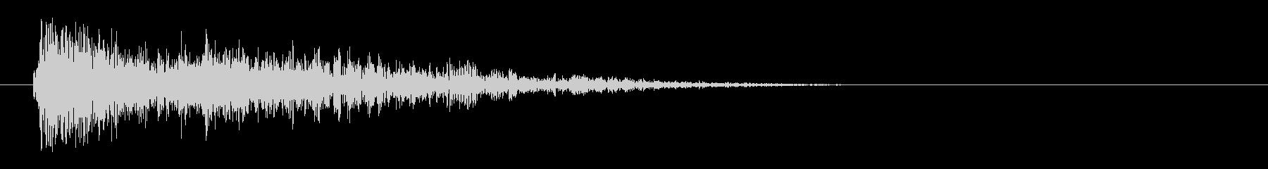 レーザー音-26-3の未再生の波形