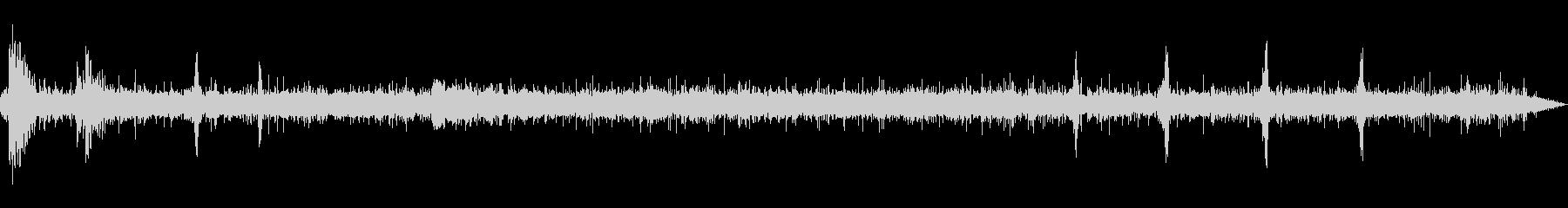 [空間録音]清流の流れる森02(初夏)の未再生の波形