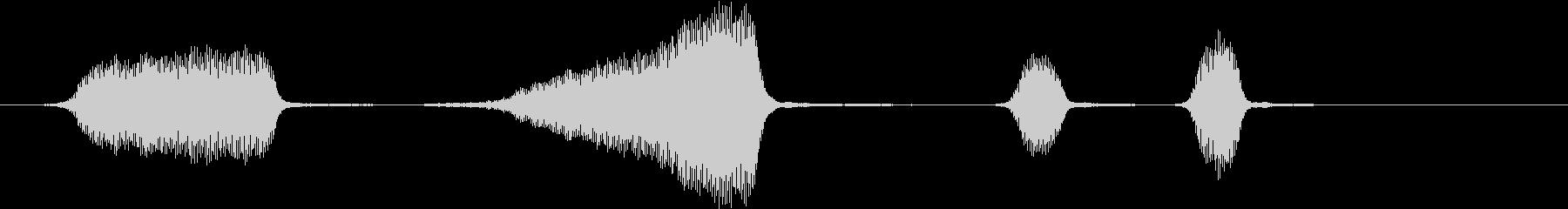 ヴィンテージ1915電動路面電車:...の未再生の波形
