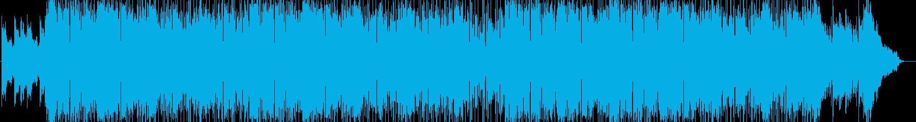アーバンなチルアウトポップの再生済みの波形
