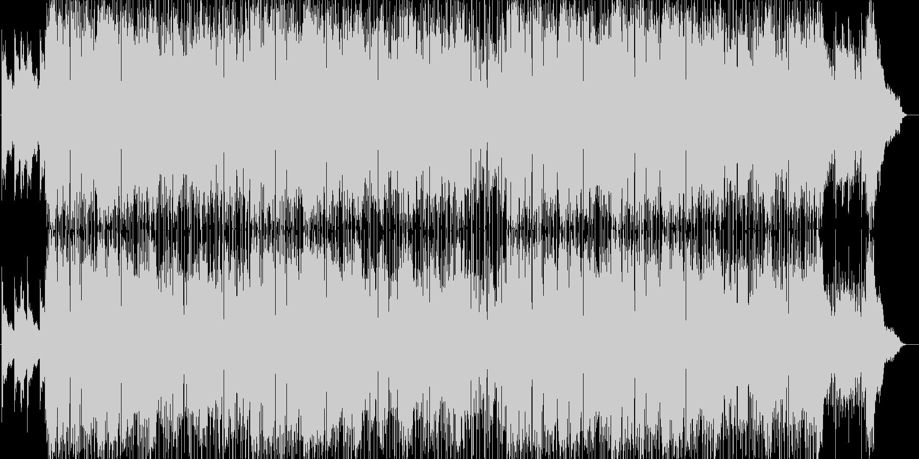 アーバンなチルアウトポップの未再生の波形