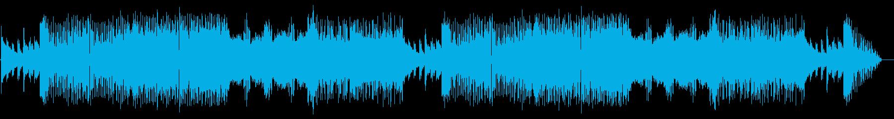 サイバーパンクな戦闘曲(ボス戦)の再生済みの波形