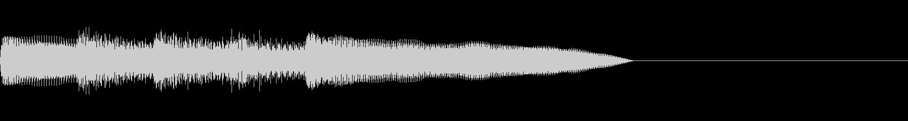 「ピロリロリン♪」レトロゲーム宿屋、回復の未再生の波形