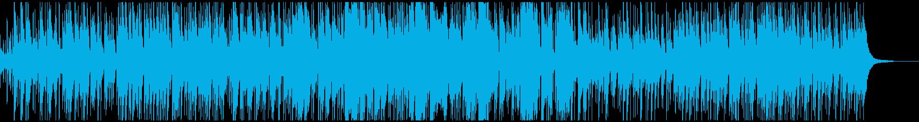 クリスマス曲・もろびとこぞりて・ボサノバの再生済みの波形