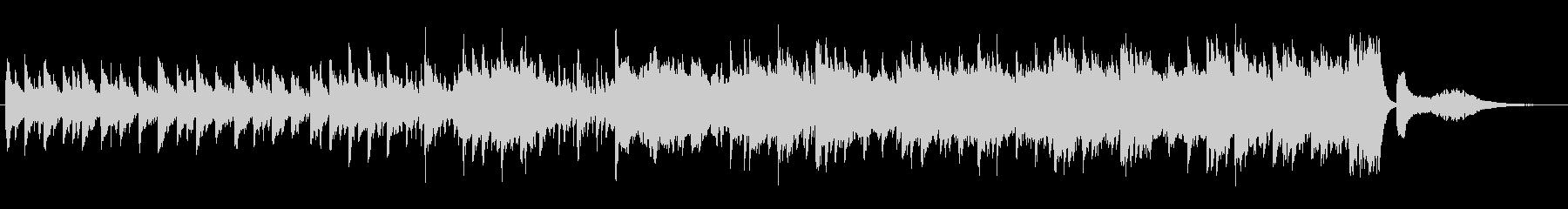 シンプルでゆったり・のどかな日常BGMの未再生の波形