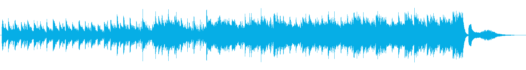 シンプルでゆったり・のどかな日常BGMの再生済みの波形