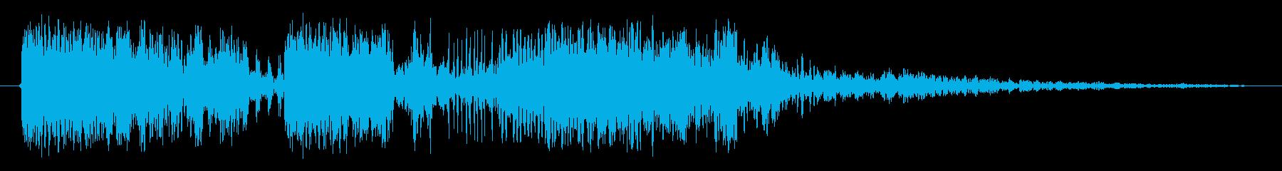ドラマクイーン1の再生済みの波形