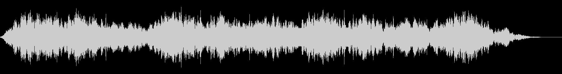 背景音 SFの未再生の波形
