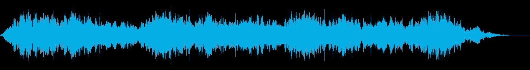 背景音 SFの再生済みの波形