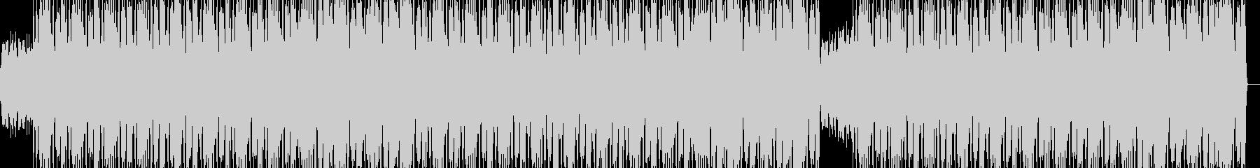 ソウルフルなヒップホップの未再生の波形