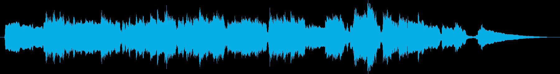 綺麗なフルートのアコースティックバラードの再生済みの波形
