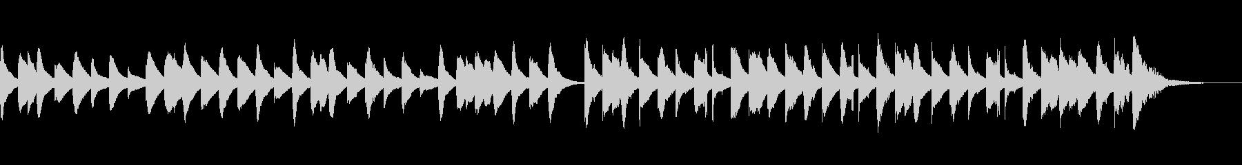ゆったりかわいい楽しいキラキラマリンバcの未再生の波形