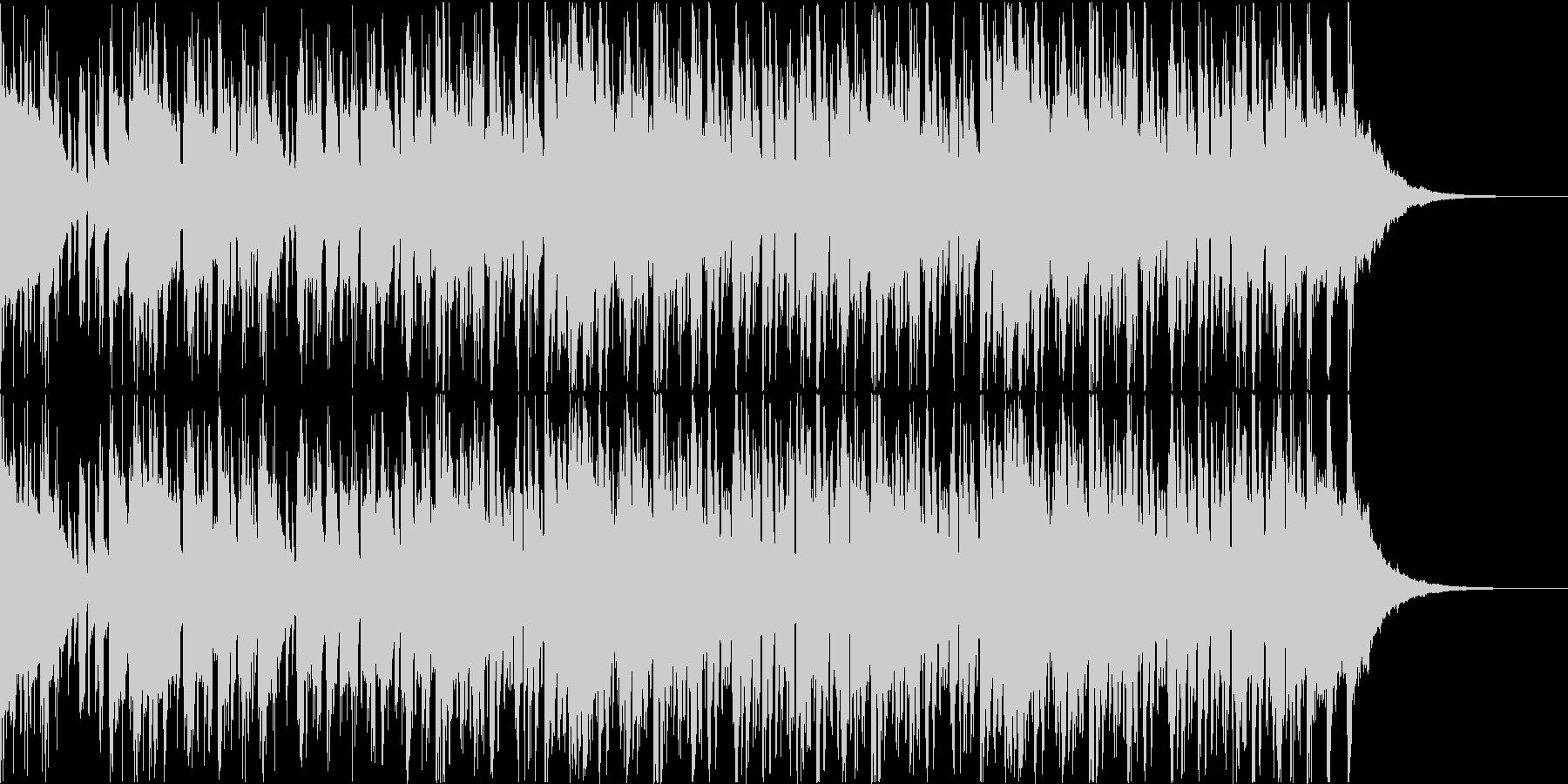 Pf「神楽」和風現代ジャズの未再生の波形