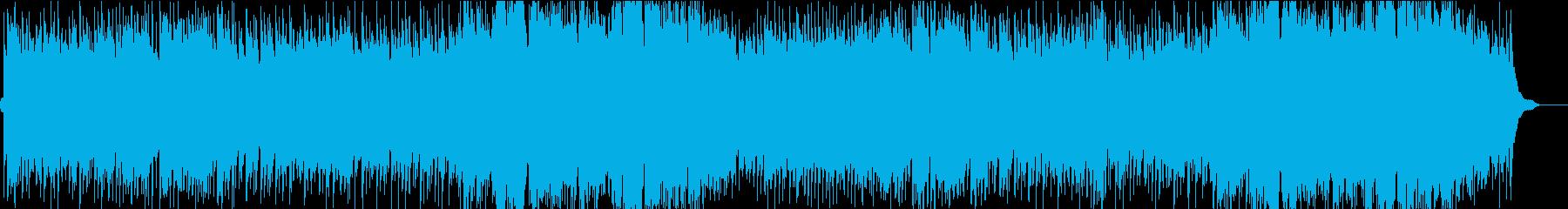夜の高速のイメージの幻想曲の再生済みの波形