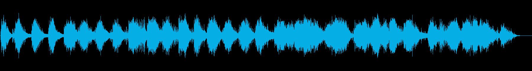 ピアノ即興によるヒーリングミュージックの再生済みの波形