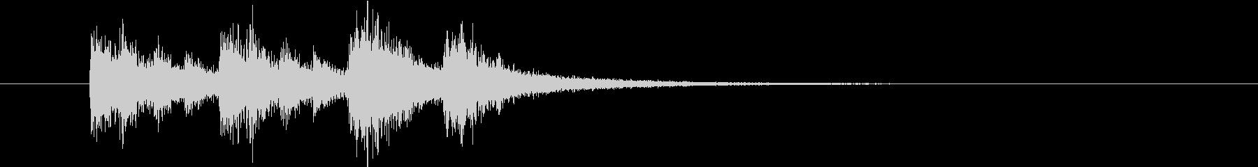 【ニュース アプリ】ジャッジャッジャーンの未再生の波形