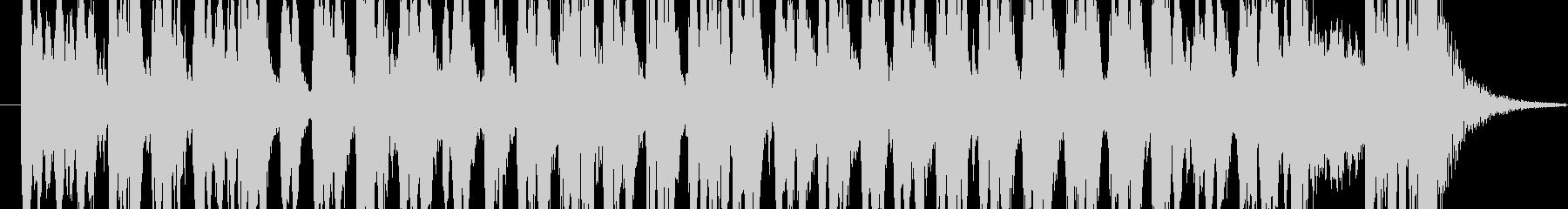 激しいクラシカルの未再生の波形