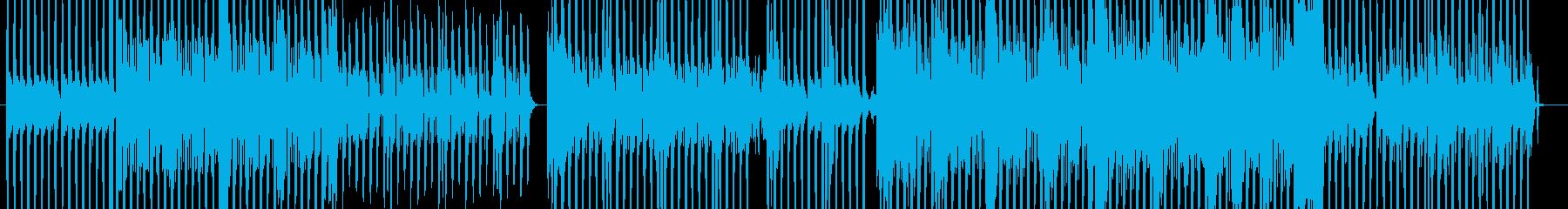 クールでかっこいいポップなダンスBGMの再生済みの波形