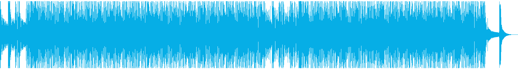 パズルゲーム風コミカルなサウンドの再生済みの波形