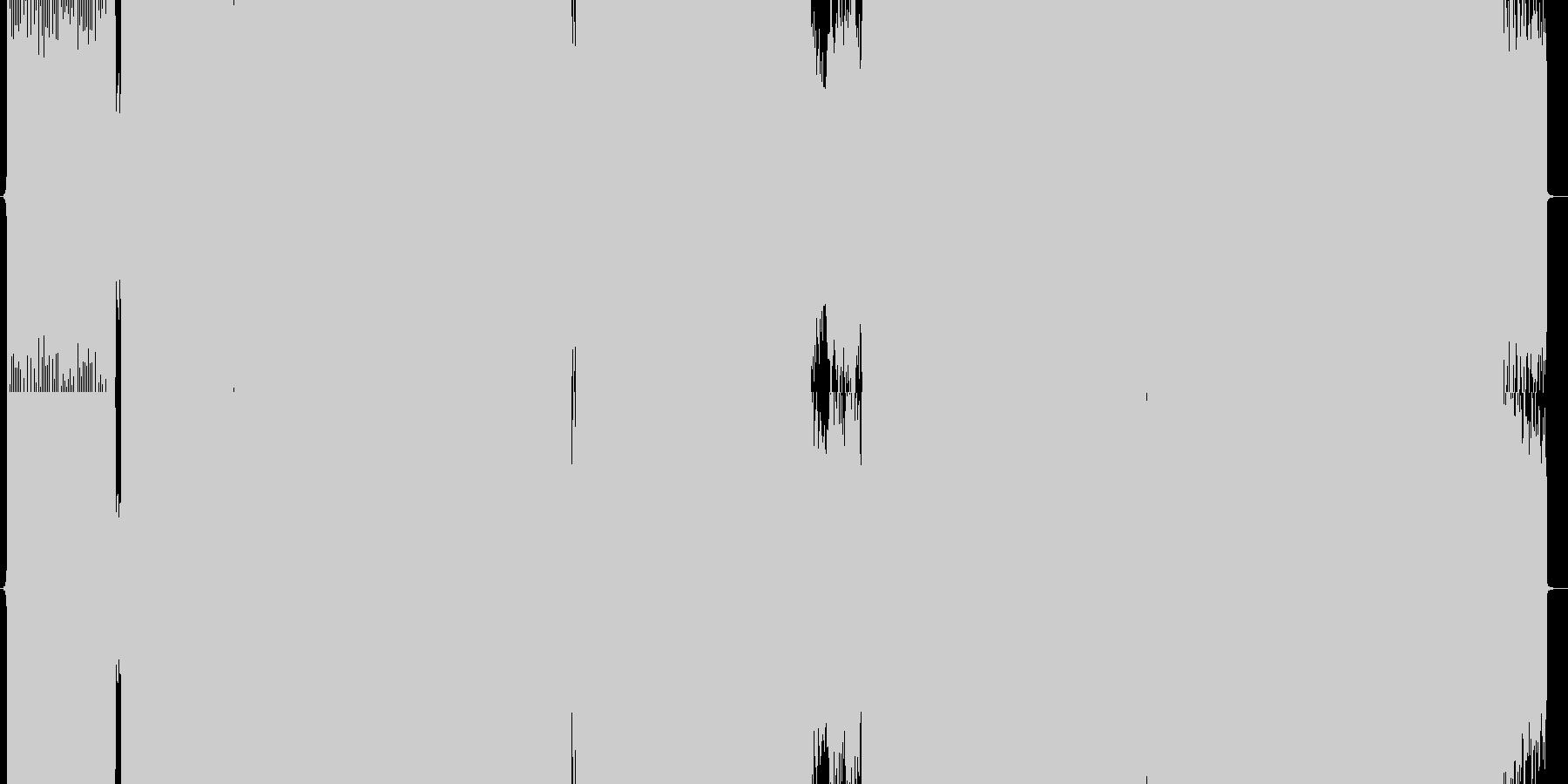 【トランス】シューティング・ゲーム向けの未再生の波形