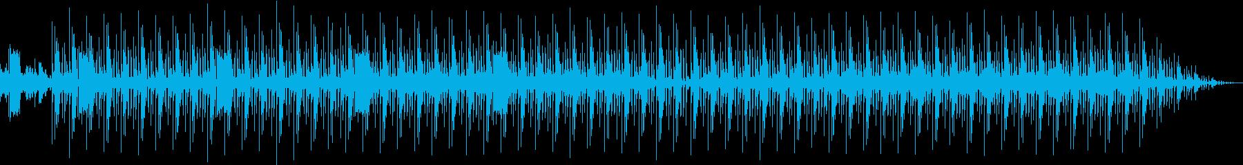 日本の和とR&B調リズムが合わさった楽曲の再生済みの波形